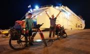 Ankunft in Patras